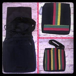 Handbags - Rasta messenger crossbody bag purse NWT